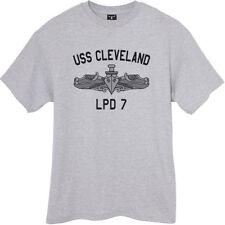 USN US Navy USS Cleveland LPD-7 T-Shirt