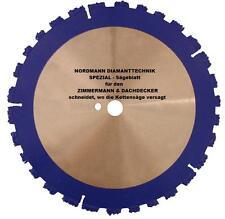 NORDMANN MAX CUT Ø 350 x 20,0 mm new Cuts - wo die Chainsaw failed