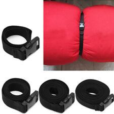 Adjustable Cargo Tie Down Luggage Backpack Lash Belt Strap Cam Buckle Travel Set