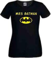 Superhero Top For Women Mrs Batman Donation to Children in Need