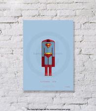 Fred Birchal - Superman - Art Print