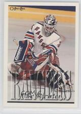 1995-96 Topps O-Pee-Chee #212 Mike Richter New York Rangers Hockey Card