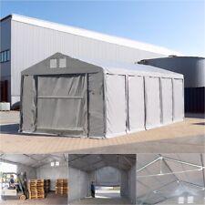 Lagerzelt 4x8-8x24m INDUSTRIEZELT Lagerhalle stabil mit HOCHZIEHTOR ganzjährig