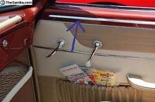 VW KARMANN GHIA, ABOVE DOOR PANEL, NEW MOLDINGS, 5-PIECE KIT,1962-1966, 12 PICS