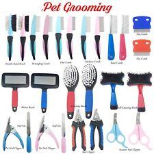Dog Grooming Range - Brush Comb Scissors Rake Nail File Clippers Slicker
