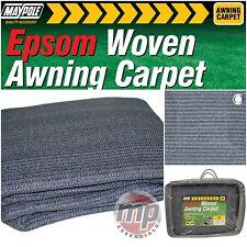 Maypole Blue Breathable Weaveatex Tent Groundsheet Matting Caravan Awning Carpet