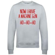 Now I Have a Machine Gun Ho-Ho-Ho Sweatshirt Die Hard John Mcclane Xmas