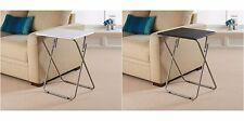 PVC Table Top avec robuste pliable Side Table Divers Couleurs