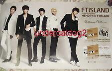 "F.T Island Remake Album Memory in FTIsland Taiwan Promo Poster (39""X23"")"