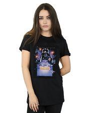 Star Wars Donna Episode V Movie Poster Boyfriend T-Shirt Fit
