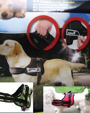 Hunde Geschirr Power Gurtband Gehhilfe Reflektor XS S M L XL schwarz rot Tarn