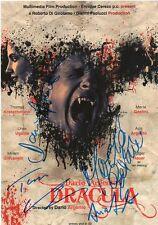 Dracula AUTOGRAPHEs signed 20x30 cm image
