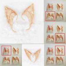 Fairy Pixie Elf Ears Cosplay Larp Halloween Party Props Decor Accessories Latex