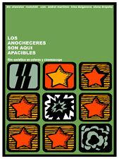 Anocheceres apacibles Movie Decor Poster. Graphic Art. Film Interior Design 3021
