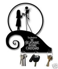 NIGHTMARE BEFORE CHRISTMAS HILLTOP METAL KEY HOOK