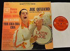 Latin Joe Quijano Dance to the Bossa Nova Mambo Cha Cha Cha Columbia STEREO 8724