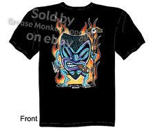 Kustom Kulture Tiki T-shirt, Tiki Clothes, Tattoo Tee, Sz M L XL 2XL 3XL New