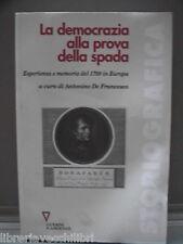 LA DEMOCRAZIA ALLA PROVA DELLA SPADA Rivoluzione 1799 napoletana in BASILICATA