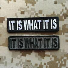 """""""It Is What It Is"""" Patch"""