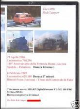 DVD No 8 -Loco 740-296 Spoleto-Fabriano e 625-100 Fano                        aa