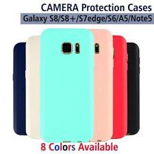 NEW Soft TPU Matt Liquid Case Slim Cover For Samsung Galaxy Note 8/S8+/S7/S6/A5