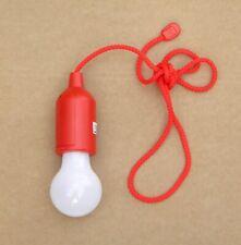 Kabellose LED-Lampe Schnurschalter als Glühbirne batteriebetrieb einfar./Blumen