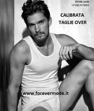 Canottiera uomo Coveri spalla larga in cotone pettinato Calibrata art ET1102 EXT