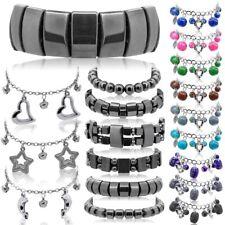 Charm Bracelet Anklet Wristband Chain Necklace Adjustable Women Kids Bell Heart