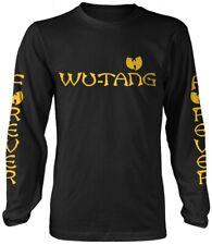 Wu-Tang Clan 'Logo' camisa de mangas largas-Nuevo Y Oficial!