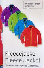 Tchibo Kinder-Fleecejacke, Verschidene Farben und Größen, weich und warm