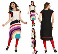 UK STOCK - Designer Bollywood Indian Dress Kurti Tunic Kurta Top Shirt SC2416