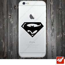 Sticker Autocollant Apple Iphone 4 5 6  Lot de 2X - BATMAN vs SUPERMAN logo IPH3
