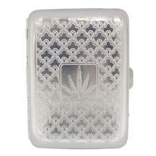 METAL CIGERETE CASE.... Holds 16 Cigarettes, Engraved Silver Design cigaret case