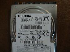"""Toshiba MK1237GSX (HDD2D62 D ZM01 T) 2.5"""" 120gb Sata Hard Drive"""