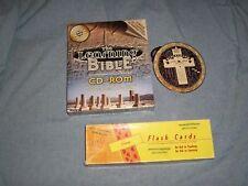 VTG 1949 BIBLEGRAPH FLASH CARD MEMORY BOOK CD COMPUTER BIBLE SCHOOL RELIGION NOS