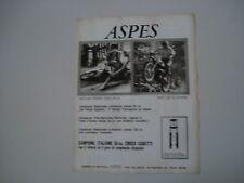 advertising Pubblicità 1972 ASPES NAVAHO 50/HOPI 125