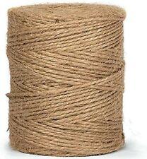 100m May Arts Finest Jute Burlap Yarn Thread String Hemp Bakers Butchers Twine
