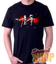 T-Shirt Pulp Fiction-Blood-Tarantino T-Shirt Guy / a/Straps / Boy