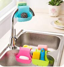 Double Sink Saddle Style Home Kitchen Organizer Storage Sponge Holder Rack New