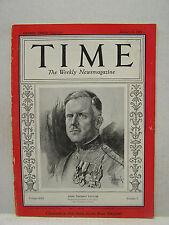 Jan 21,1935 TIME Magazine- John Thomas Taylor on cover- Very Good  (ARRI)
