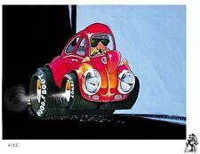 DEALS WHEELS BUG BOM TSHIRT #4163 retro revelle beetle model art vw dave deal