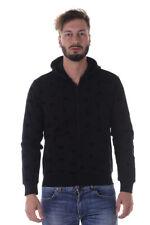 Felpa Armani Jeans AJ Sweatshirt Hoodie % Uomo Nero 6Y6M676JEBZ-1200
