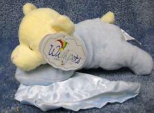 """2004 Wishpets Teddy Bear """"Sweet"""" w/Security Blanket Stuff Plush Toy Lovey Rattle"""