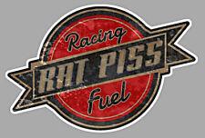 RACING RAT PISS FUEL Sticker