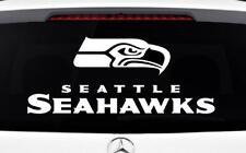 SEATTLE SEAHAWKS Decal ~ Car Truck Window Vinyl Sticker - Wall Cornhole Graphics