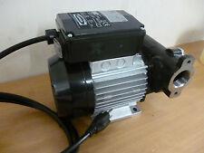 Inline Transfer Pump IBC Tank Water Diesel Fuel Pump Piusi Flow Meter Hose IBC