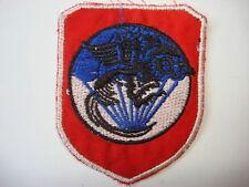 Vietnam War ARVN SF LONG THANH TRAINING School Patch