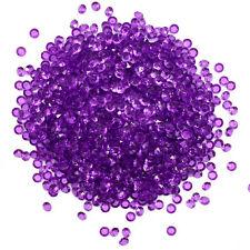 5mm Wedding Party Table Decoration Diamond Gem Scatter Crystals - Cadbury Purple