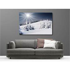 Cuadro tela decoración rectangular montaña 64440877