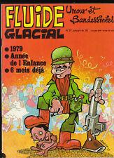 FLUIDE GLACIAL n°37. Franquin Idées Noires. 1979. Neuf